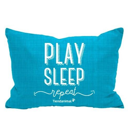 Cama exclusiva 'Play Sleep' Tiendanimal azul