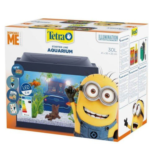 Kit acuario infantil Minions de Tetra