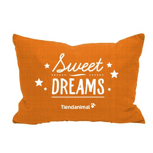 Cama exclusiva 'Sweet Dreams' naranja