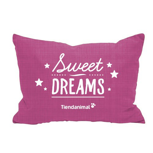 Cama exclusiva 'Sweet Dreams' rosa