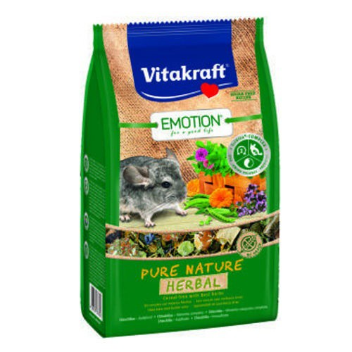 Vitakraft Emotion Pure Nature Herbal chinchillas