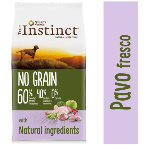 True Instinct No Grain Medium-Maxi con pavo