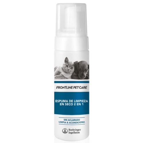 Espuma de limpieza en seco Frontline Pet Care