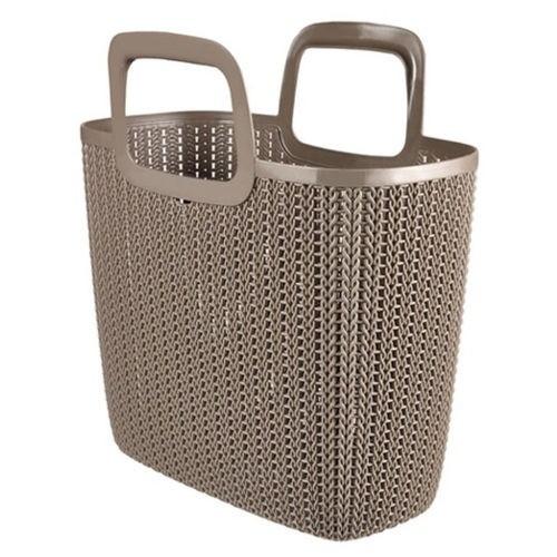 Cesta Curver Knit Lily diseño de punto