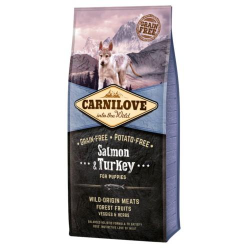 Pienso Carnilove Salmon & Turkey cachorros