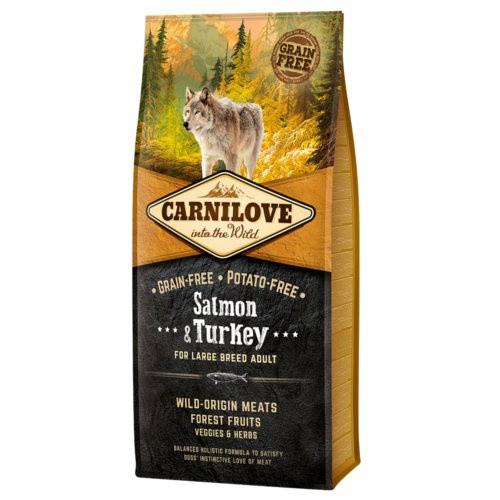 Pienso Carnilove Salmon & Turkey razas grandes