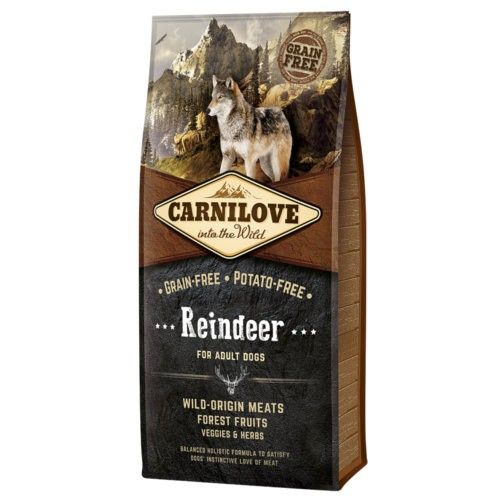 Pienso Carnilove Reindeer para perros