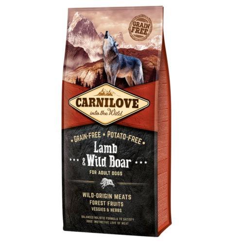 Pienso Carnilove Lamb & Wild Boar para perros