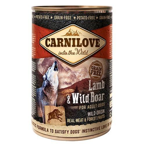 Comida húmeda Carnilove Lamb & Wild Boar