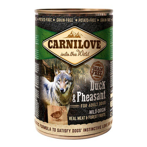 Comida húmeda Carnilove Duck & Pheasant