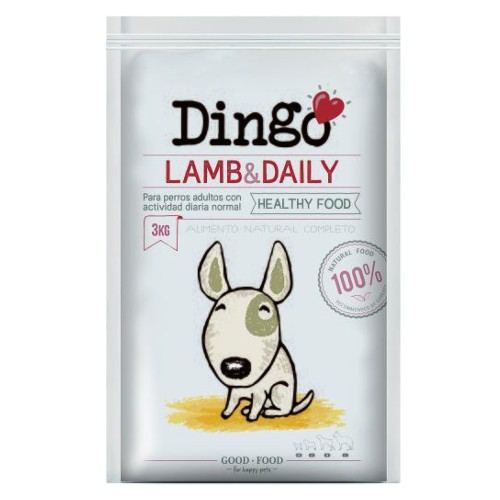 Pienso Dingo Lamb & Daily para perros adultos