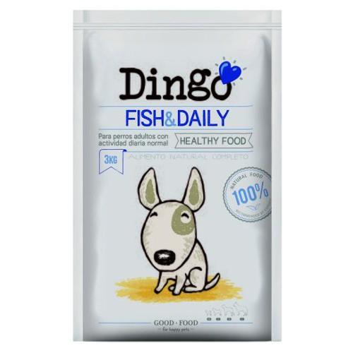 Pienso Dingo Fish & Daily para perros adultos