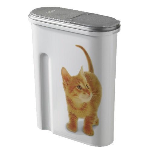 Contenedor para pienso de gatos pequeño
