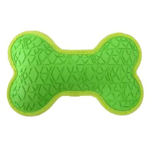 Hueso de goma resistente verde