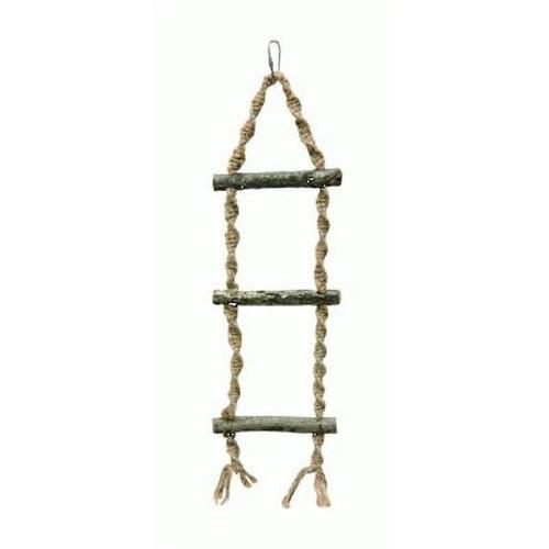 Escalera de cuerda para pájaros