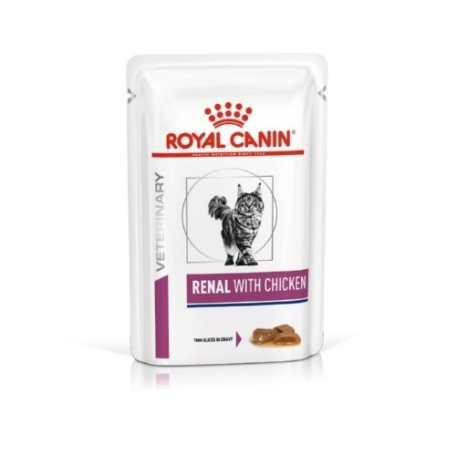 Royal Canin Renal húmedo con pollo para gatos