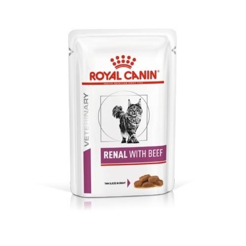 Royal Canin Renal húmedo con buey para gatos