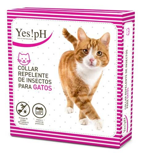 Collar repelente de insectos para gatos Yes!pH