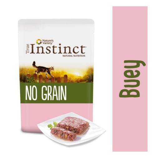 True Instinct No Grain paté de buey con verduras