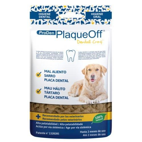 Snack dental para perros PlaqueOff Dental Croq