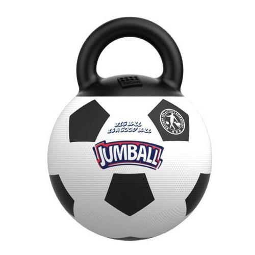 Pelota de fútbol con asa de goma - Tiendanimal fdb3dfee371e0
