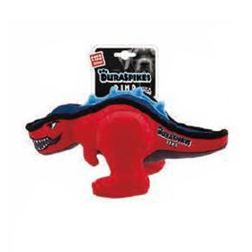 Dinosaurio con púas GiGwi rojo
