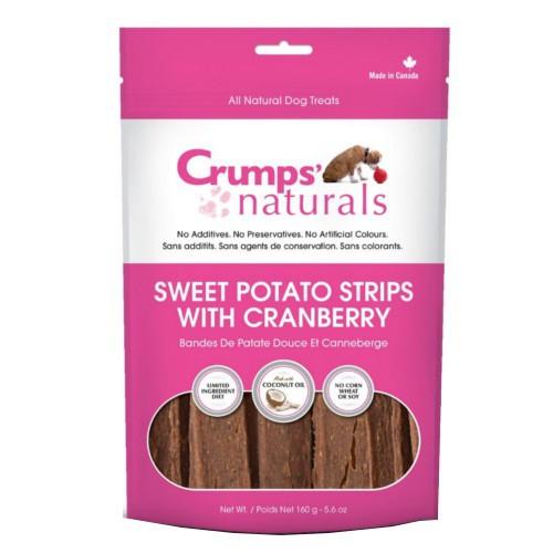 Barritas de patata dulce con arándanos Crumps