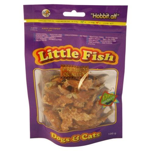 Pescaditos con pollo para perros y gatos