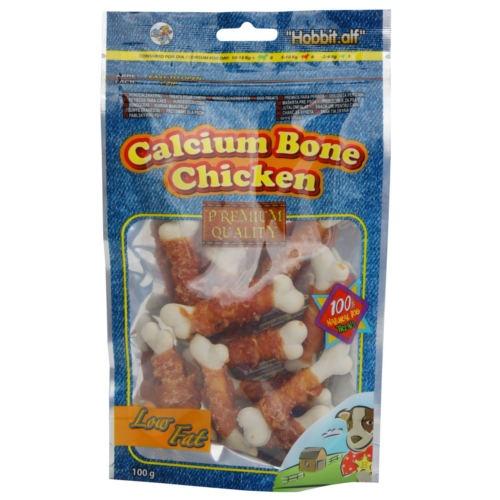 Huesitos de calcio con pollo para perros