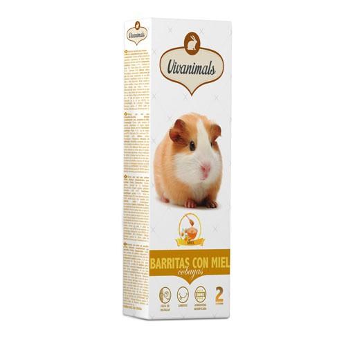 Barritas con miel para cobayas Vivanimals