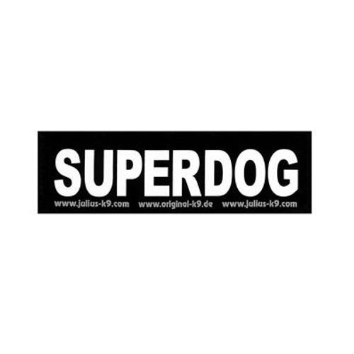 Etiqueta para arnés Julius K9 Superdog
