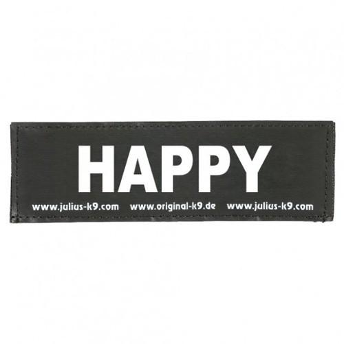 Etiqueta para arnés Julius K9 Happy