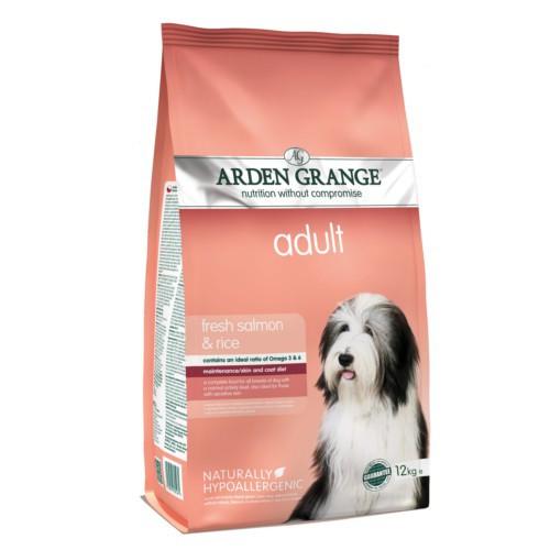 Pienso Arden Grange Salmón y arroz para perros