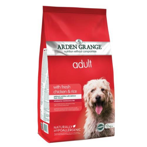 Pienso Arden Grange Pollo y arroz para perros
