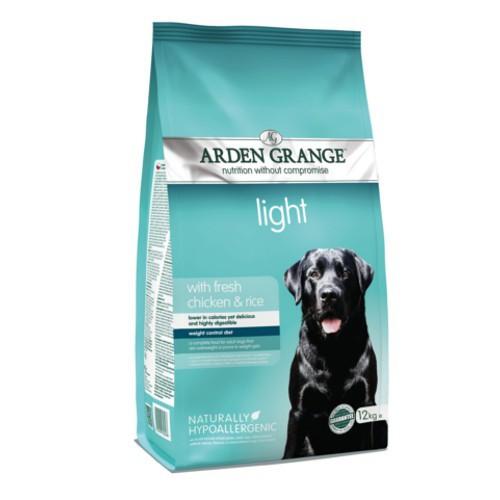 Pienso Arden Grange Light Pollo para perros