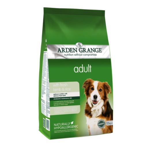 Pienso Arden Grange Cordero y arroz para perros
