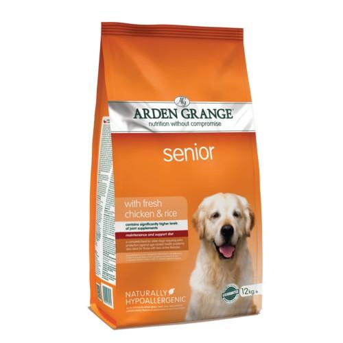Pienso Arden Grange Senior Pollo para perros