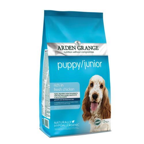 Pienso Arden Grange Puppy/Junior para cachorros