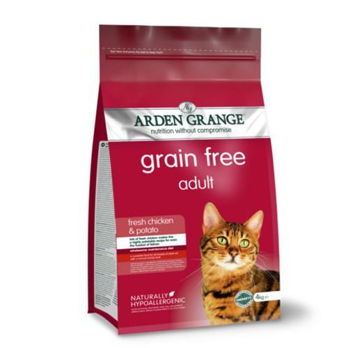 Pienso Arden Grange Grain Free para gatos