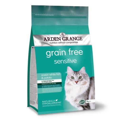Pienso Arden Grange Sensitive para gatos