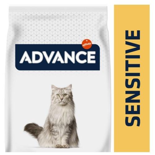 Advance Sensitive pienso para gatos adultos con salmón y arroz