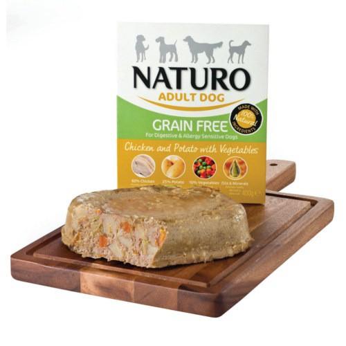 Naturo Grain Free pollo con patatas para perros