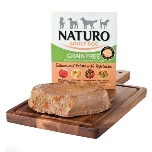 Naturo Grain Free salmón y patatas para perros