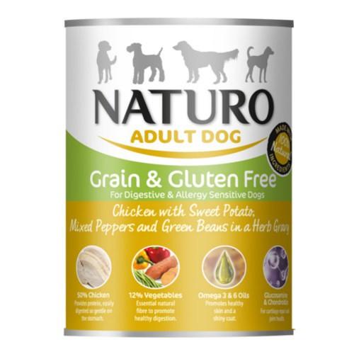 Naturo Grain Free pollo con verduras para perros
