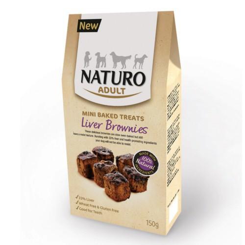Naturo brownies de hígado para perros