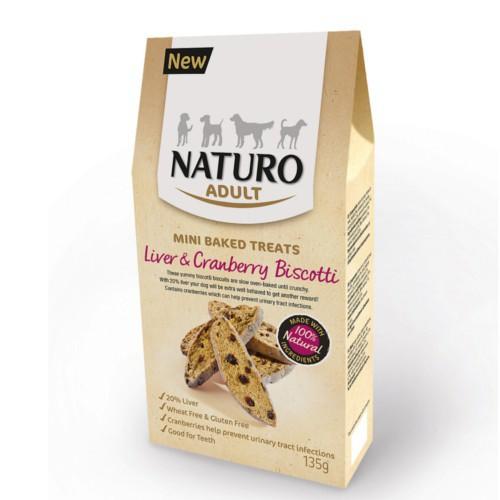 Naturo galletas de hígado y arándanos para perros