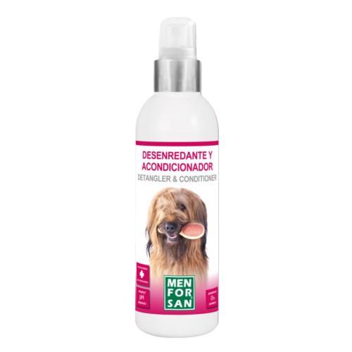 Spray desenredante y acondicionador Menforsan