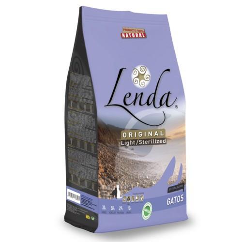 Pienso Lenda Original Light Sterilized para gatos