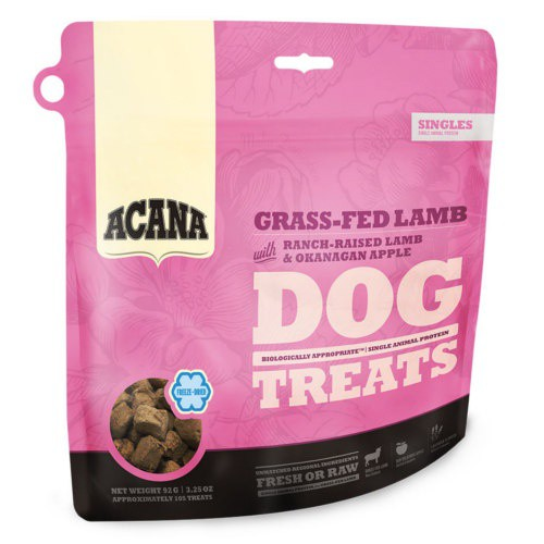 Snack Acana Dog Treats cordero y manzana