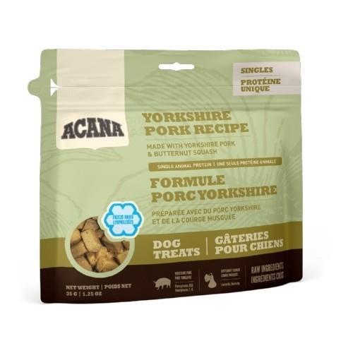 Snack Acana Dog Treats cerdo y calabacín